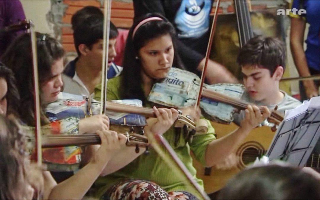 Le recyclage au service de la musique