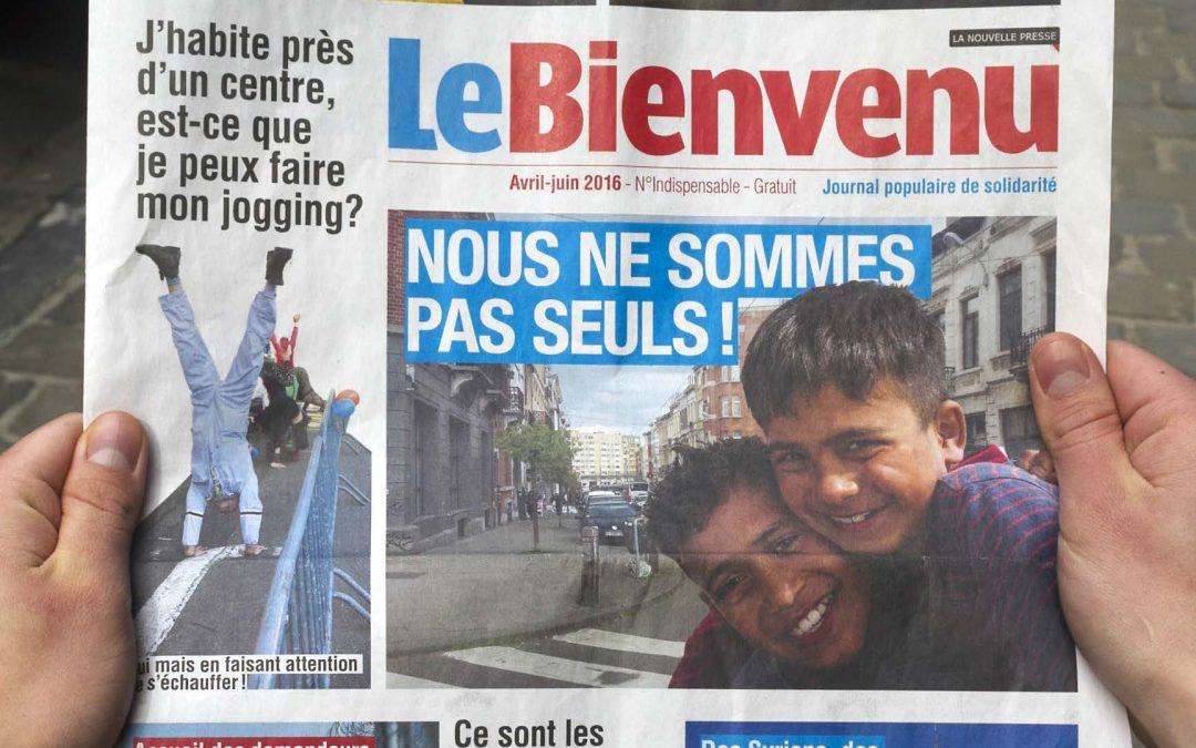 « Le Bienvenu » : un journal pour démonter les préjugés