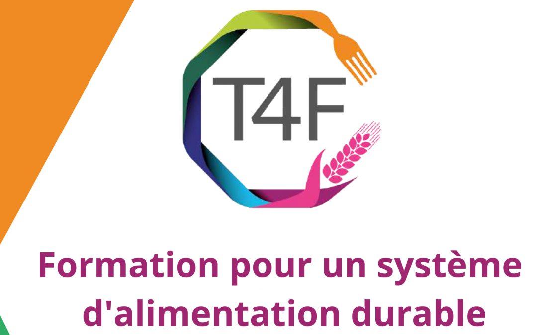 Se former à l'alimentation durable avec le projet européen T4F