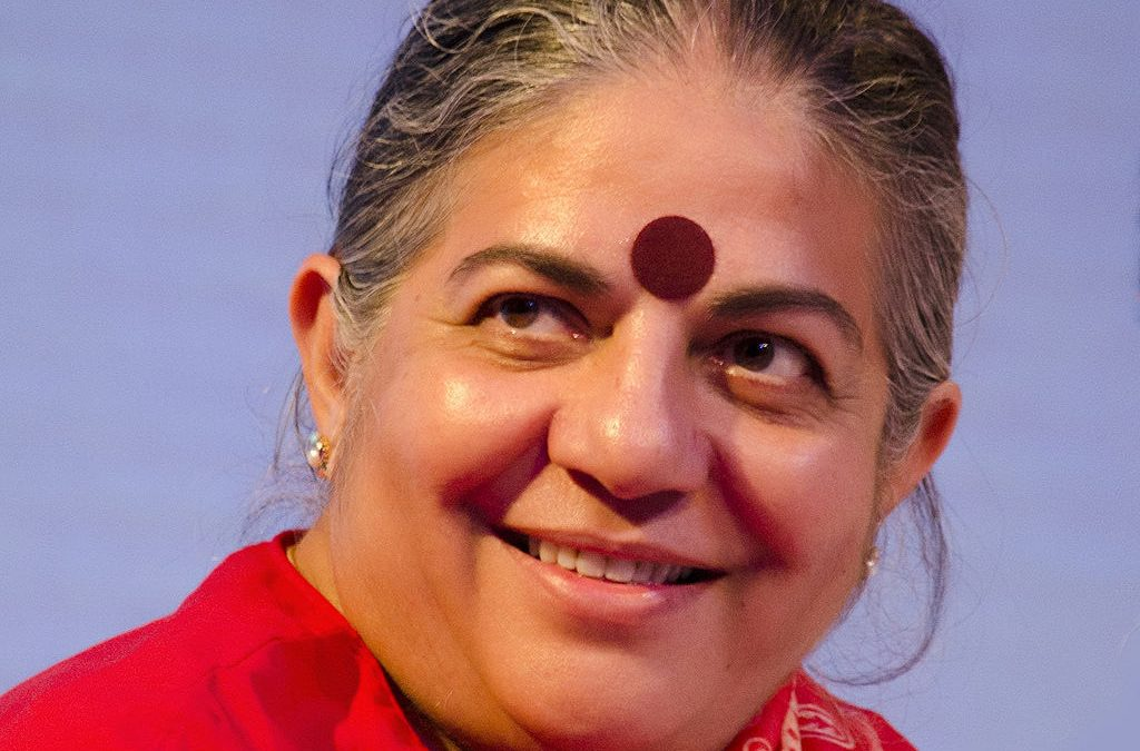 «Nous sommes tout·es des graines», Vandana Shiva