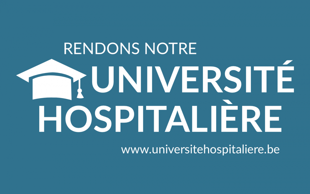 Rendons notre université hospitalière!