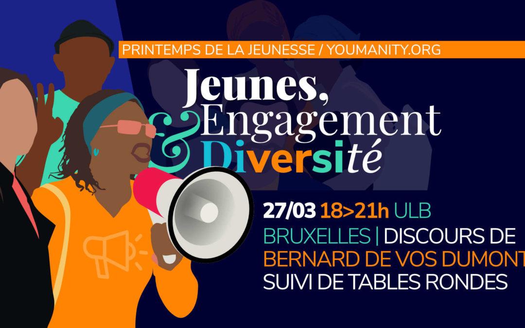 Jeunes, engagement et diversité: événement annulé!
